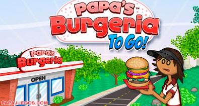 Juego De Papa Louie Burgeria Cocinar Hamburguesas